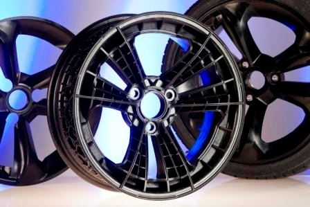 Ultramid Structure from BASF used for wheel of smart forvision